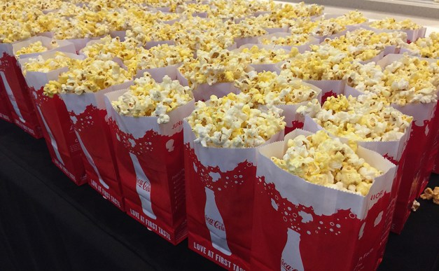 Sacramento Movie Theater Popcorn