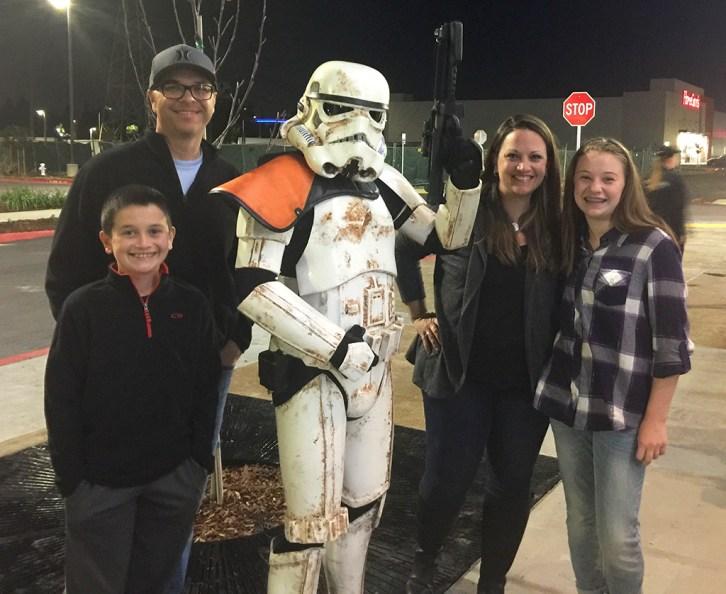 Star Wars Sand Trooper Visits Sacramento