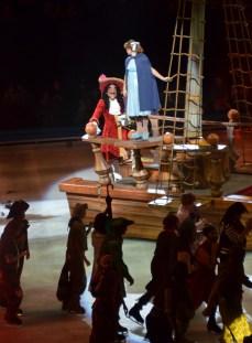 Wendy Walks The Plank in Disney On Ice