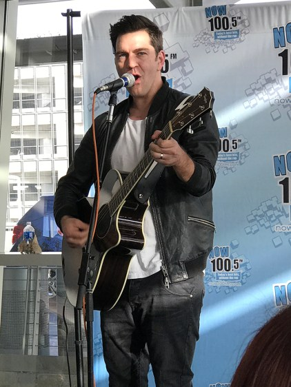 Andy Grammer Performs at St. Jude Benefit Concert at Sacramento International Airport