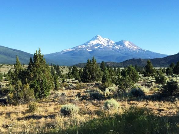 Mount Shasta California Vista Point