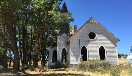 Old Church in Grass Valley, Oregon