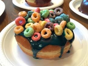 Fruit Loops Doughnut