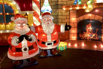 Christmas Lights and Holiday Lantern Displays at CalExpo in Sacramento