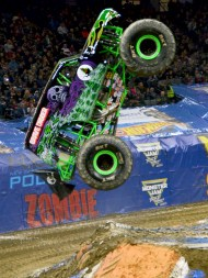 Grave Digger Monster Jam Monster Truck Jumps