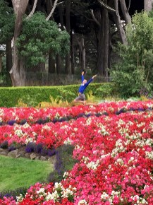 Kids Playing in Golden Gate Parks Gardens