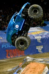 NEA Police Monster Jam Truck