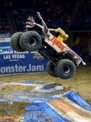 Zombie Monster Jam Truck Jumping
