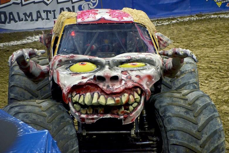 Zombie Monster Jam Monster Truck