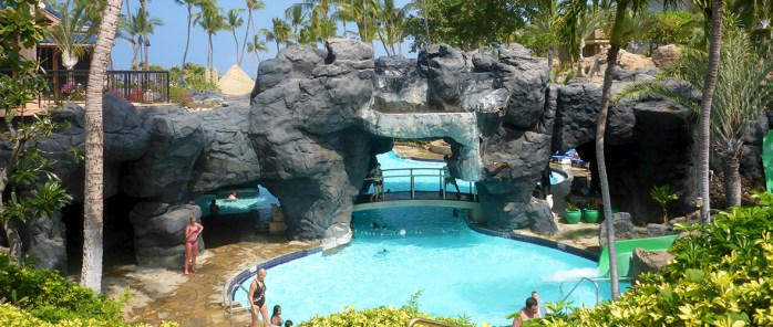 Hilton Waikoloa Village Pools and Waterslides