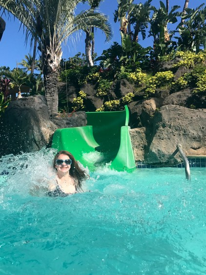 Hilton Waikoloa Water Slides