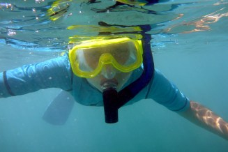 Snorkeling in Mauna Lani Bay