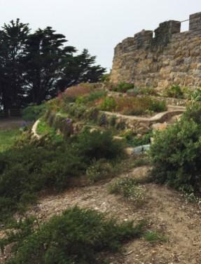 Sutro House Gardens in San Francisco