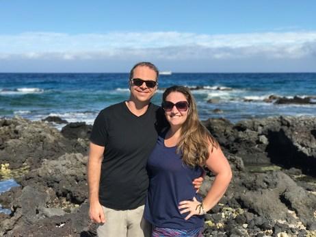 Brian and Jennifer Bourn in Hawaii