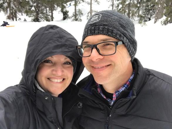 Family Sledding at Donner Summit Sno-Park