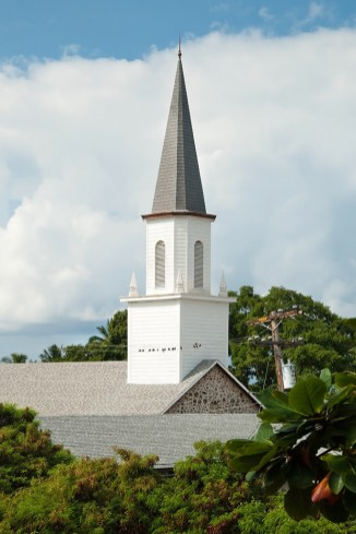 Historic Moku'aikaua Christian Church Steeple