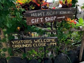Hulihe'e Palace in Kona, Hawaii