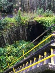 Kaumana Caves near Hilo, Hawaii