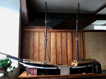 Model of the Brig Thaddeus