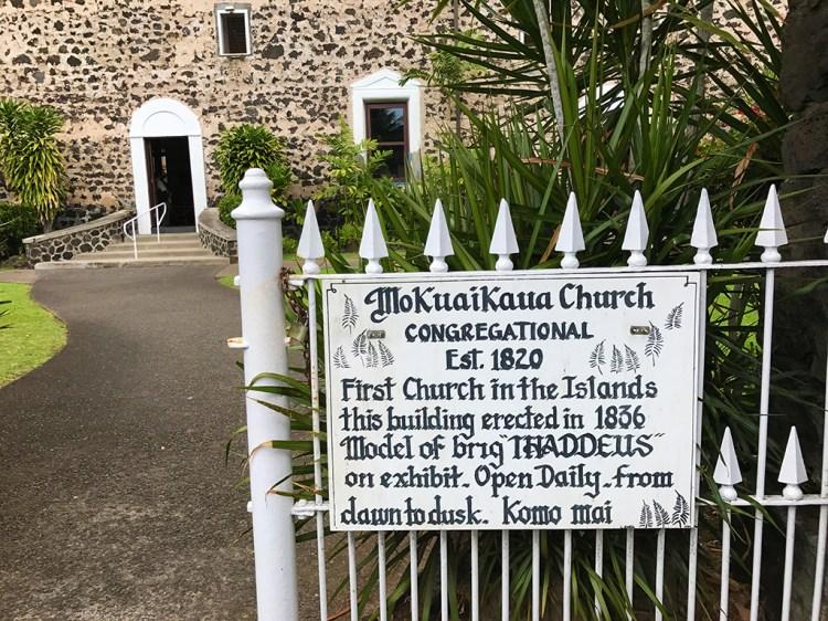 Moku'aikaua Church