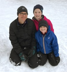 Playing in the Snow With Kids