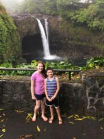 Rainbow Falls in the Wailuku River State Park
