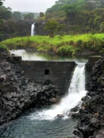 Wai'ale Falls in Hilo, Hawaii