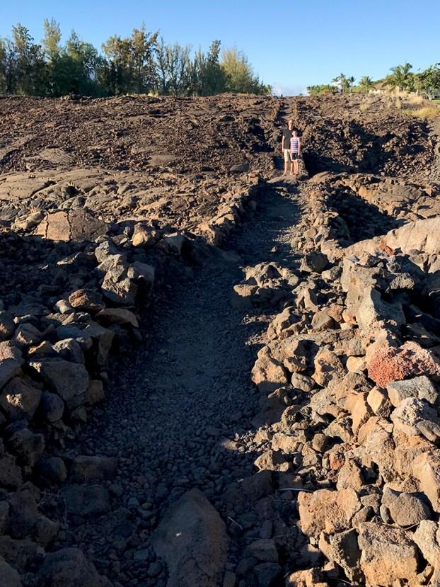 Waikoloa Petroglyph Preserve Trail