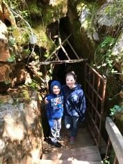 Entrance to Black Chasm Cavern