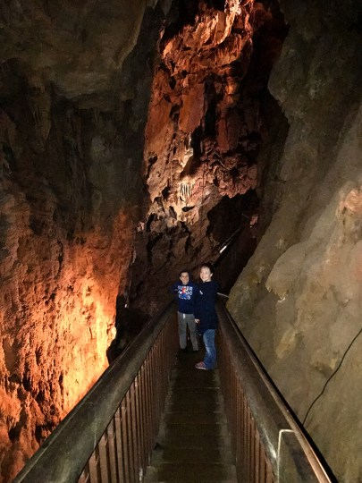 Black Chasm Cavern Staircase