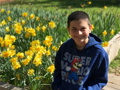 Carter Bourn at Daffodil Hill