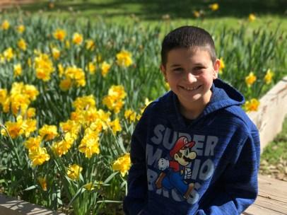 Carter Bourn at Daffodil Hill
