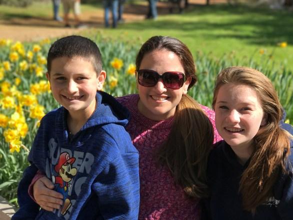 Family Fun at Daffodil Hill