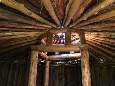 Miwok Roundhouse Interior