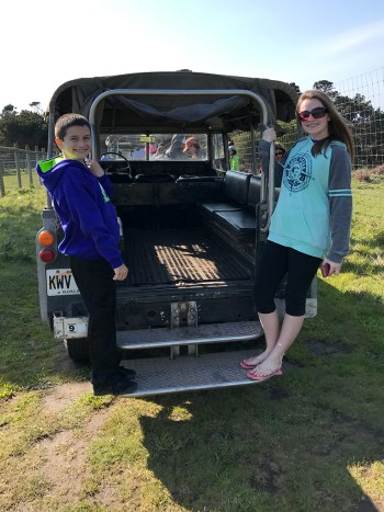 B Bryan Preserve Tours Use Vintage Open Air Land Rovers