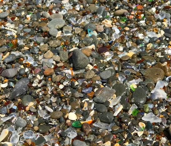 Sea Glass at Glass Beach