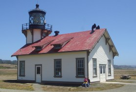 Visiting the Point Cabrillo Lighthouse in 2010