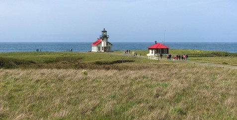 Point Cabrillo Lighthouse on the Northern California Pacific Coast near Mendocino