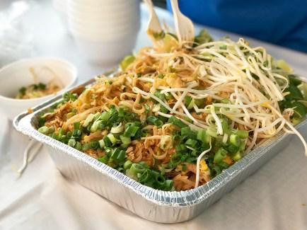 Sacramento County Fair Pad Thai Noodle Bowls