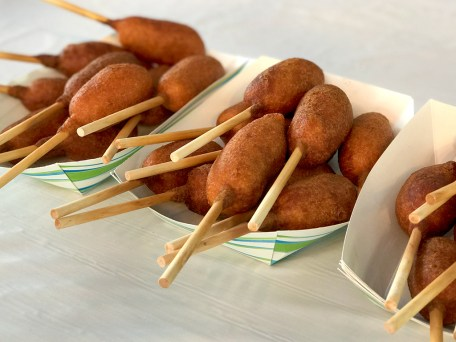 Tofu Corndogs At The Sacramento County Fair