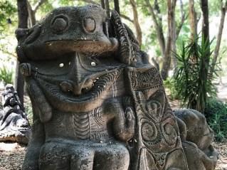 Ancestors Of The Nowii Tek Clan Sculpture