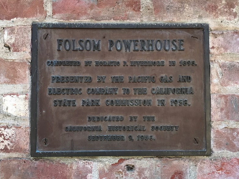 California State Park Folsom Powerhouse