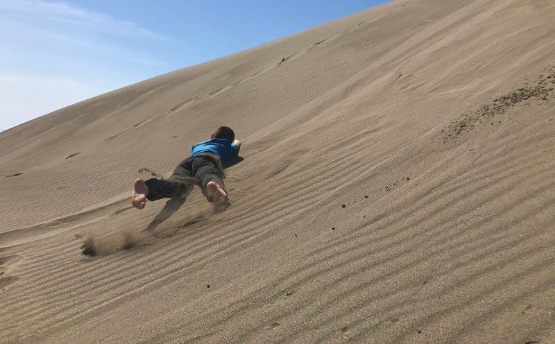 Carter Bourn Rolling Down The Sand Dunes