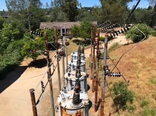Folsom Hydroelectric Plant Transformers