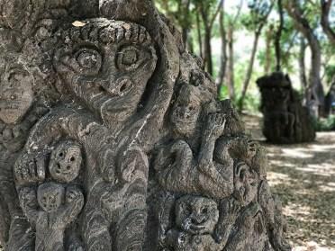 Gates of Hell Sculpture at the Papua New Guinea Sculpture Garden