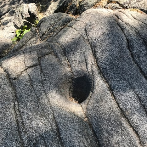 Historic Indian Mortar Holes