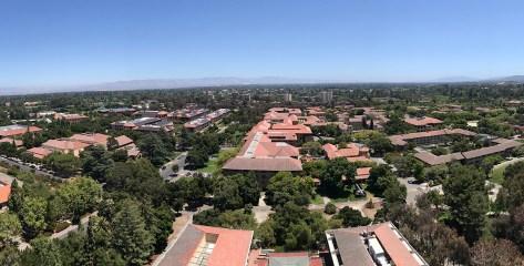 Hoover Tower Observation Deck View