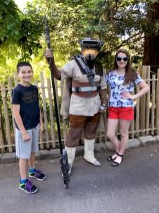 Bounty Hunter Leia at Sacramento Zoo Star Wars Day