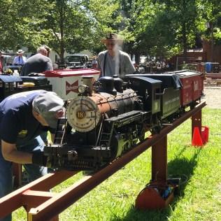 Live Steam Railroading