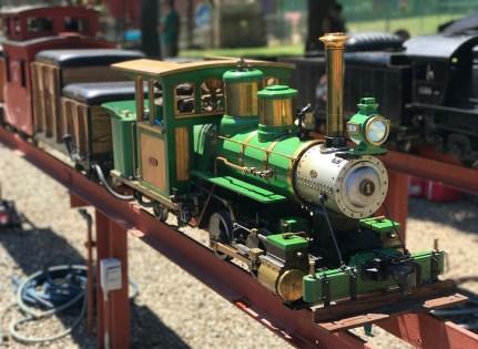 Miniature Steam Locomotive